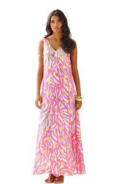 ada00e3f6eb20f Mallory Maxi Dress - Lilly Pulitzer Chiffon Maxi Dress, Silk Chiffon, Dress  Lilly,