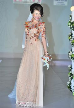 this is So cute!! love the modern cut and look with the veil. but the color would wash out with my skin.