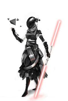 female jedi | Female Dark Jedi