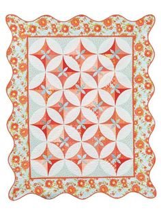I love color baby quilt pattern