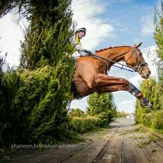 Jessica and Bug - what an awesome shot! #ottbsrock