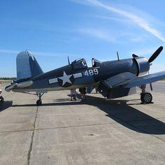 Seldom seen F4U-3 Corsair