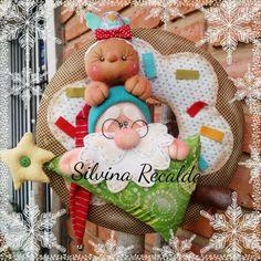 Christmas Fabric, Christmas 2017, Christmas Crafts, Merry Christmas, Primitive Christmas, Holiday Time, Fabric Decor, Xmas Tree, Santa