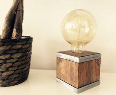 Industrial/moderno/rústico mesa lámpara lámpara de sobremesa