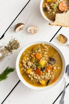 Butternut & Barley Winter Soup