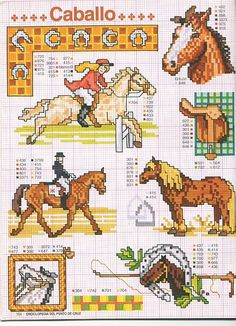 - ENCICLOPEDIA ITALIANA 2 - KIM-2. Funny Cross Stitch Patterns, Cross Stitch Charts, Cross Stitch Designs, Cross Stitch Horse, Cross Stitch Animals, Cross Stitching, Cross Stitch Embroidery, Horse Pattern, Cross Stitch Bookmarks