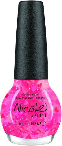 Nicole by OPI Nail Lacquer, Have A Heart, 0.5 Fluid Ounce for only $6.99 You save: $1.00 (13%) + Free Shipping