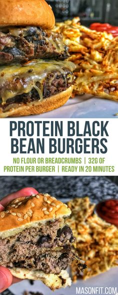 these high protein black bean burgers will be a new favorite picky eater approved