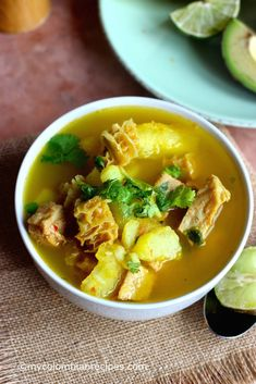 Mondongo Colombiano, which is pork, tripe and chorizo soup, is served in every traditional Colombian restaurant. It is a hearty soup and a signature dish in Tripe Soup, Chorizo Soup, Fun Easy Recipes, Healthy Recipes, Healthy Meals, Keto Recipes, Columbian Recipes, Colombian Cuisine, Latin American Food