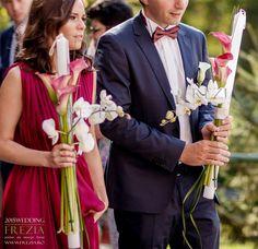 Lumânări de cununie simple și elegante/ Simple & elegant wedding candles Foto Ciprian Dumitrescu