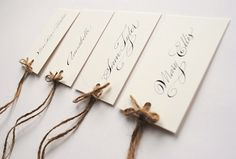Calligraphy for Weddings ~ Beautiful Handwritten Calligraphy and a 10% Saving For All Readers