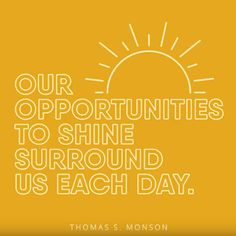 Opportunities to Shine