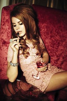 Unpublished image of Lana Del Rey's shoot with Ellen Von Unwerth, 2012
