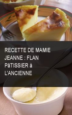 recette de mamie jeanne : flan pâtissier à l'ancienne #Recette #Flan #Mamie #Patissier