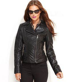 Juniors Plus YMI Faux Leather Motorcycle Jacket   Juniors Plus ...