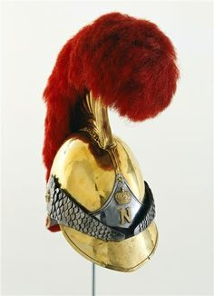 French Napoleonic carbineer first empire helmet.