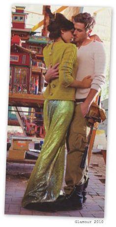 Marc Jacobs long ombré sequins skirt