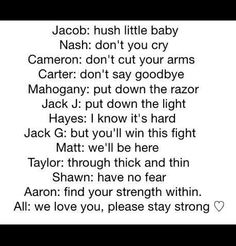Love this so much. I wanna cry right now Daigle Daigle Daigle Dallas ng ng Nash Grier Hayes Grier Imagines, Magcon Imagines, Magcon Quotes, Ariana Grande, Minions, Macon Boys, Magcon Family, Bae, Jack G