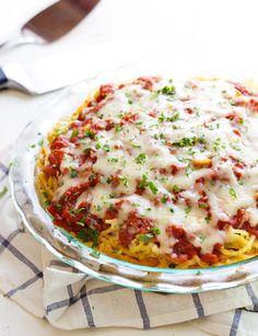 Spaghetti Pie Recipe - RecipeChart.com
