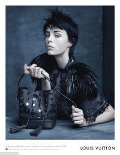 Louis Vuitton SS2014 Campaign Model: Edie Campbell Photographer: Steven Meisel