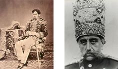 Shah of Persia and Emperor of Japan
