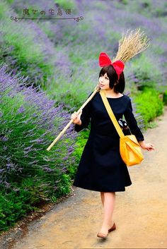 Kiki from Kiki's Delivery Service Cosplay || anime cosplay