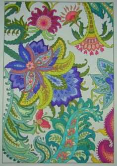 Jules Cote' (18+ division) from Paisley Designs coloring book