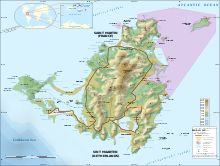 Detailed map showing French Saint-Martin (north), including its territorial waters Saint Martin Island, Kingdom Of The Netherlands, Topographic Map, Caribbean Sea, Atlantic Ocean, Earth Science, The Places Youll Go, Bing Images, Saints