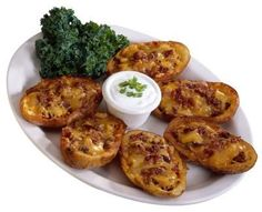 Quick and Easy potato skins