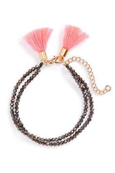 Beaded Tassel Bracelet