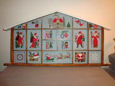 Les nouvelles croix de symiote: Casier Noël terminé !