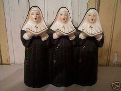 Vintage Stuff, Vintage Toys, Nun Costume, Nuns Habits, Hummel Figurines, Wise Women, Childhood Memories, Sculpting, Catholic