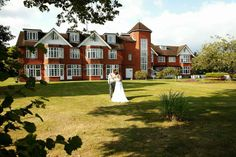 Grovefield House Hotel Venue in Burnham, Buckinghamshire. Combining a secluded setting and easy-to-reach location, The Grovefield House Hotel near Windsor is a suburb wedding venue.