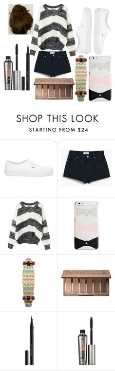 """""""Untitled #8"""" by sofi-the-first1912 on Polyvore featuring Vans, MANGO, Kate Spade, Urban Decay, Kevyn Aucoin and Benefit"""