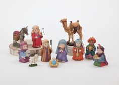 Nativity: This nativity set will fit easily on most tables or shelves and will be a holiday decoration children will love seeing displayed.
