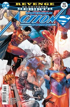 Chris is on Infinite Earths: Action Comics #983 (2017)