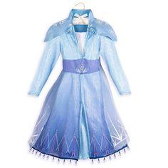 NWT Disney Store Ice Queen Elsa Costume Dress for Girls Frozen II Size Blue. Costume Collection, Dress Collection, Elsa Costume For Kids, Vestido Elsa Frozen, Princess Fancy Dress, Disney Baby Clothes, Queen Elsa, Ice Queen, Party Frocks