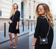 Zara Dress, Gap Shoes