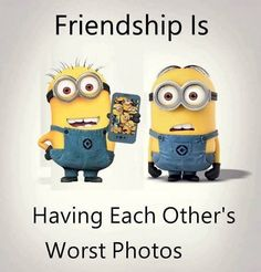 62 Ideas birthday friend quotes funny laughing for 2019 Funny Minion Pictures, Funny Minion Memes, Funny School Jokes, Crazy Funny Memes, Really Funny Memes, Funny Jokes, Minion Humor, Cute Minions, Best Friend Quotes Funny