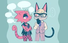 Animal Crossing Cats, Animal Crossing Villagers, Game Character, Character Design, Ac New Leaf, Animal Games, Kawaii Art, Furry Art, Manga