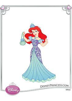 Ariel Dress Up dolls Disney Princess Fashion, Disney Princess Ariel, Disney Style, Disney Princesses, Disney Fashion, Princess Dress Up, My Princess, Princess Pictures, Princess Pics