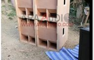 Skema Box Sub Bass 18 inch Speaker Box Design, Subwoofer Box, Audio, City, Model, Klipsch Speakers, Tutorials, City Drawing