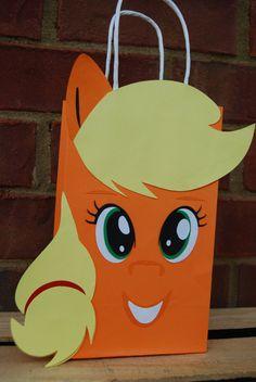 My Little Pony favor gift bags by EasyPeasyPartiesAtl on Etsy
