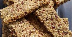 Müsliriegel mit Cranberries