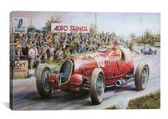 Alfa Romeo Headed For Victory