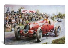 Alfa Romeo Headed For Victory