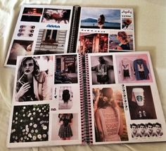 Tumblr notebook collage