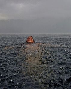 Merit, Sense of Place: Swimming in the Rain - Photo and caption by Camila Massu/National Geographic Traveler Photo Contest (My sister in the south of Chile) National Geographic Traveler Magazine, National Geographic Photo Contest, Foto Gif, Concours Photo, Rain Photography, Perspective Photography, Photography Courses, Travel Photography, Sense Of Place