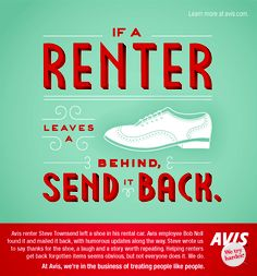 If a renter leaves a shoe behind, send it back.