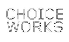 choice works identity by pentagram